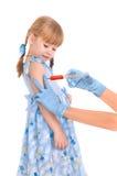 Vacunación Imagen de archivo libre de regalías