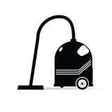 Vacuum cleaned vector illustration. Vacuum cleaned vector art illustration on white royalty free illustration