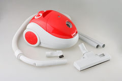 Electric vacuum cleaner isolated  Stock Images