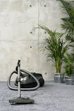 Vacuum cleaner. Howsework - domestic life Royalty Free Stock Photo