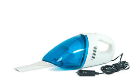 Vacuum cleaner for car isolated Royalty Free Stock Photos