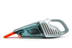 Vacuum cleaner. Car vacuum cleaner isolated on white background stock photos