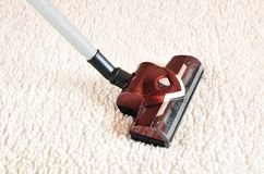 Vacuum cleaner. Royalty Free Stock Image