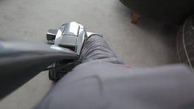 Vacuum cleaner stock video footage