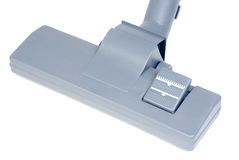 Vacuum cleaner head isolated ower white. Background royalty free stock images