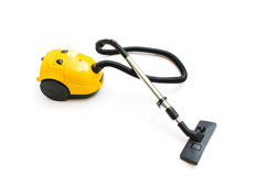 Vacuum cleaner isolated. On the white background Royalty Free Stock Photography