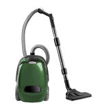 Vacuum cleaner isolated Royalty Free Stock Photos