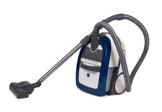Vacuum cleaner isolated Royalty Free Stock Photo