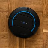 Vacuum cleaner robot Stock Images