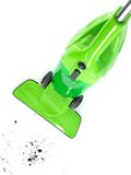Vacuum Cleaner. A studio photo of a vacuum cleaner royalty free stock photos