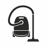 Vacuum cleaner. Vector icon isolated on white background vector illustration