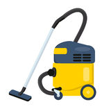 Vacuum cleaner vector illustration. Hoover icon.  Stock Photos