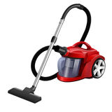Vacuum cleaner. On white background,  illustration Royalty Free Stock Photos