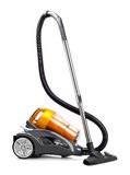Vacuum cleaner  on white Stock Photos