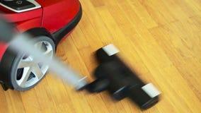 Vacuum cleaner. stock video footage