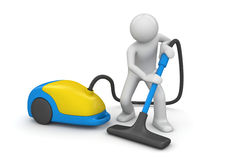 Vacuum cleaner - Workers Royalty Free Stock Photos