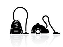 Vacuum cleaners set Royalty Free Stock Image