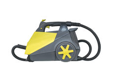 Vacuum cleaners  on white background Royalty Free Stock Photography