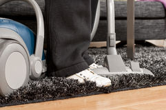 Vacuum Cleaning Stock Image