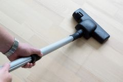 Vacuum Cleaning Royalty Free Stock Image