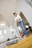 Vacuum Cleaning Royalty Free Stock Images