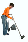Vacuum cleaning Stock Images