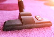 Vacuum cleaning Royalty Free Stock Photos