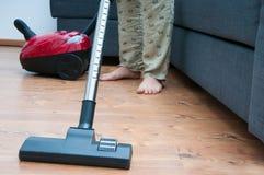 Vacuum cleaning Stock Photos