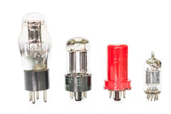Vacuum electronic preamplifier tubes Stock Photography