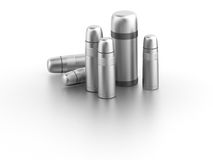 Vacuum flask (thermos) Stock Image