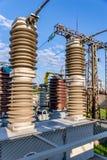 Vacuum high-voltage electrical equipment Stock Image