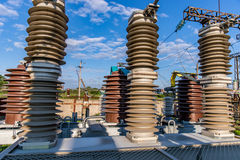 Vacuum high-voltage electrical equipment Royalty Free Stock Image