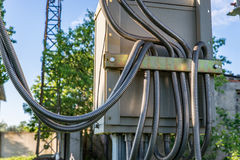 Vacuum high-voltage electrical equipment Royalty Free Stock Photography