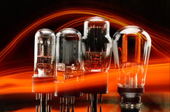 Vacuum lamp Royalty Free Stock Photos