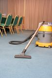 Vacuum machine on carpet Royalty Free Stock Image