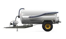 Vacuum Manure Spreader Royalty Free Stock Photography