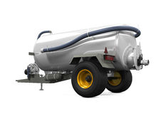 Vacuum Manure Spreader Stock Photography