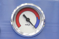 Vacuum power Gauge Stock Image