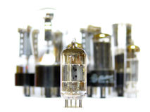 Vacuum Radio Tube Royalty Free Stock Photography