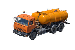 Vacuum trucks Stock Photo