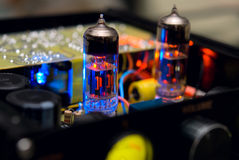 Vacuum tube Stock Image