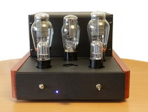 Vacuum tube amplifier Royalty Free Stock Photography