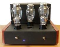 Vacuum tube amplifier Royalty Free Stock Photo