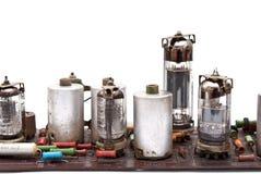 Vacuum tube circuit board Stock Photos