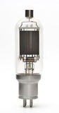 Vacuum tube - old electronic component isolated Royalty Free Stock Photo