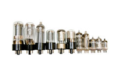 Vacuum tube Stock Image