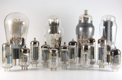 Vacuum Tube Skyline Royalty Free Stock Images