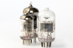 Vacuum tubes Royalty Free Stock Images