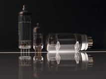 Vacuum tubes Royalty Free Stock Image