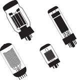 Vacuum tubes Stock Photo